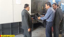 افتتاح کارخانه تولید سبد کشاورزی در چاه کبکان اسیر