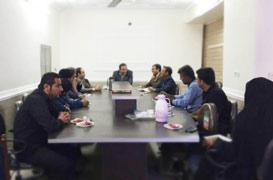 جلسه شورای ورزشی بخش وراوی برگزار شد